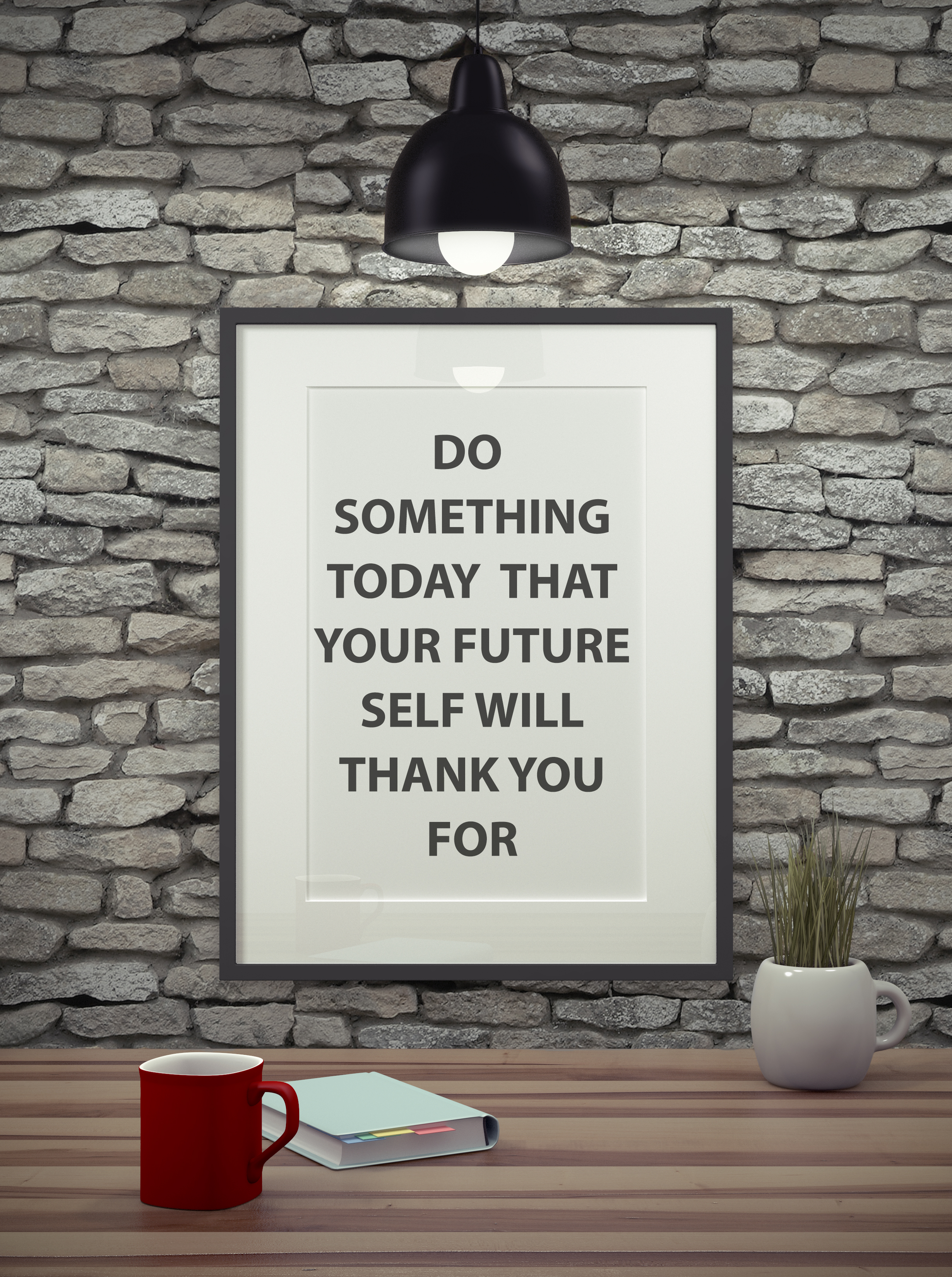 Do something today poster