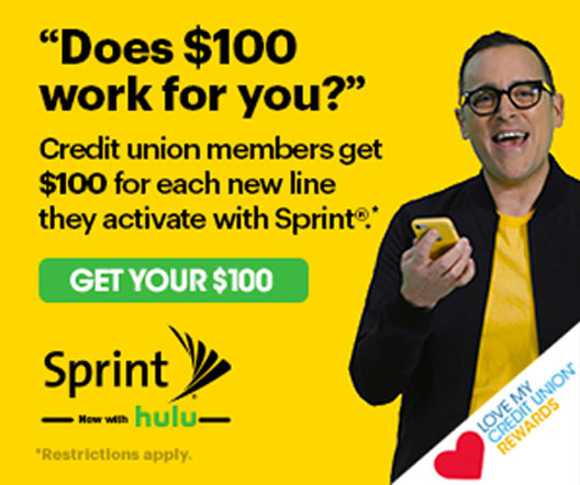 Sprint Credit Union Offer