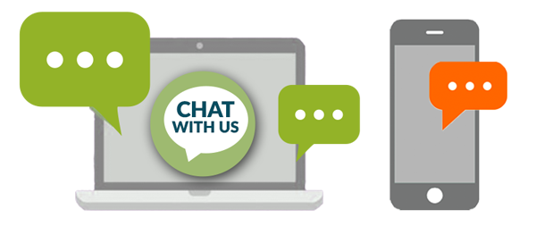 Now You Can Live Chat and Text with Us